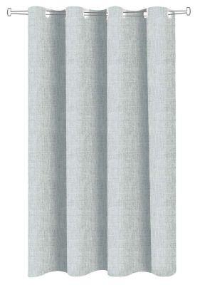 Ύφασμα κουρτίνας Linen Look Ocean φάρδος 295 cm.
