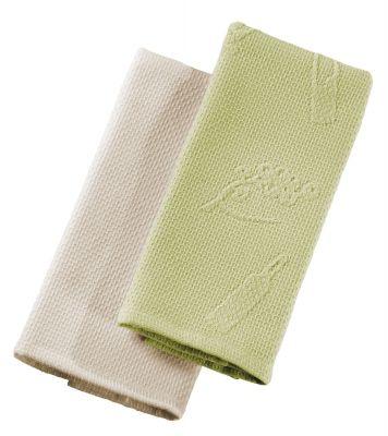 Πετσέτες κουζίνας Split Olive-Beige σετ 2 τεμαχίων