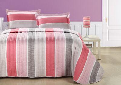 Σεντόνια Duetto Pink 170x250 Σετ 3 τεμαχίων