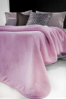 Βελουτέ Κουβέρτα  Smooth Lilac 160x220