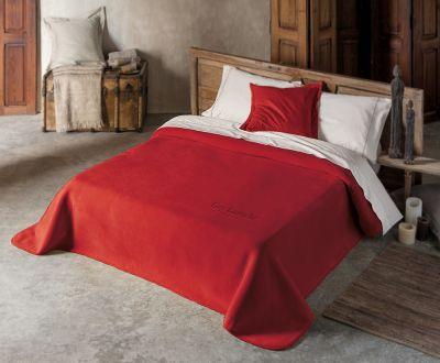 Βελουτέ Κουβέρτα  Smooth Red 160x220
