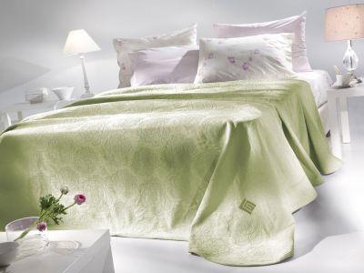 Κουβέρτα Augusta Lime 160x260