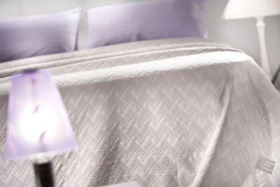 Κουβέρτα Diagonal Ivory 160x260