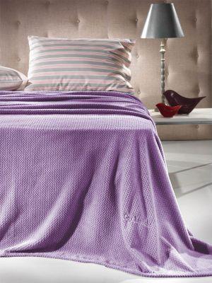 Κουβέρτα Echo Lavender 160x220