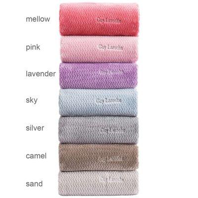 Κουβέρτα Fabia Pink 160x220