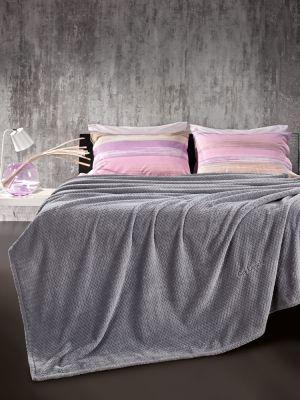 Κουβέρτα Rombus Silver 220x240