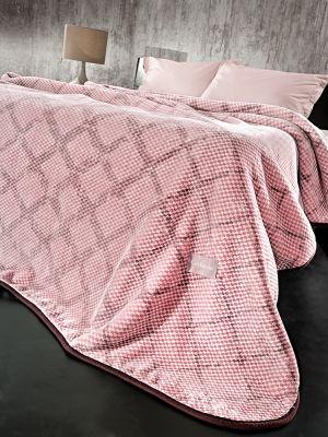 Κουβέρτα Maroon Cherry 220x240