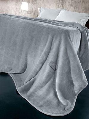 Κουβέρτα Solid Grey 220x240