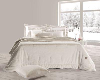 Γούνινη κουβέρτα Fox Beige 220x240