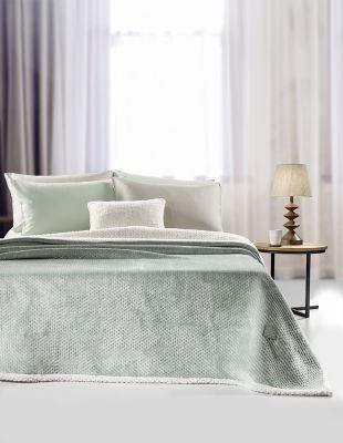 Κουβέρτα 2 όψεων Serpa Mint 220x240