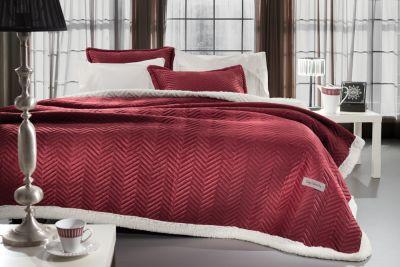 Κουβέρτα Velluto Rosso 220x240