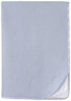 Κουβέρτα BEBE HEAVEN L.BLUE ΠΙΚΕ 110X150