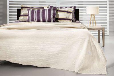 Κουβέρτα Diane Natural 230x260