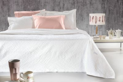 Κουβέρτα Europa White 230x260