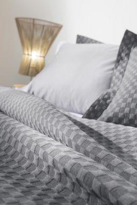 Κουβέρτα Squares Anthracite 160x260