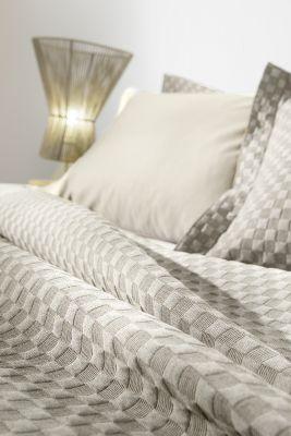 Κουβέρτα Squares Linen 160x260