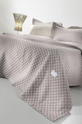 Κουβέρτα Squares Wenge 240x260