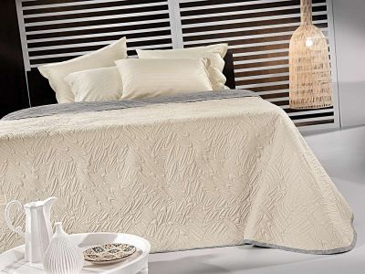 Κουβερλί Fusion Sand-Silver 230x250