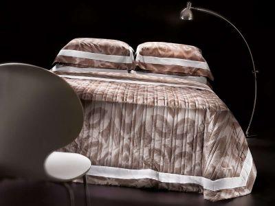 Κουβερλί Laurel Choco Silver 240x250