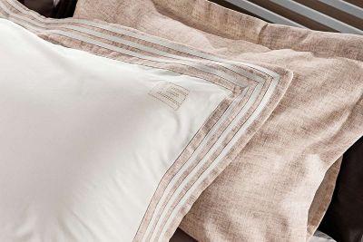 Μαξιλαροθήκες Oxford Linen Old Pink 50x70(ζεύγος)