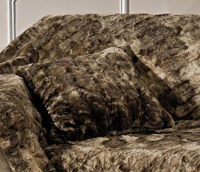 Μαξιλάρι Φιγούρας Agata Brown 45x45