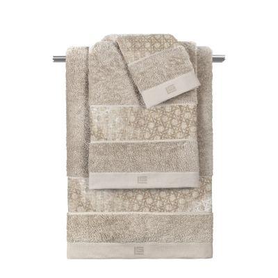 Πετσέτες Vienna Beige  Σετ 3 τμχ (30x50-50x90-70x140)