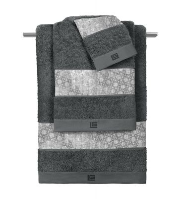 Πετσέτες Vienna Anthracite  Σετ 3 τμχ (30x50-50x90-70x140)