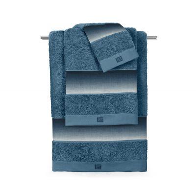Πετσέτες Mykonos Petrol  Σετ 3 τμχ (30x50-50x90-70x140)