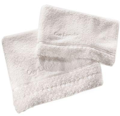 Πετσέτες Chloe White 30x50-50x100-70x140 Σετ 3 τεμαχίων