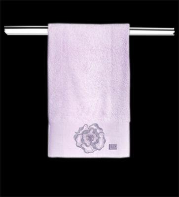 Πετσέτες Begonia Lilac 30x50-50x90-70x140 Σετ 3 τεμαχίων