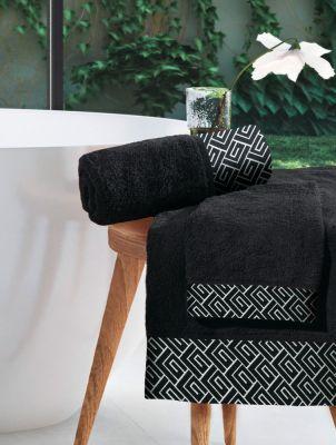 Πετσέτα Χεριών Famous Black 30x50