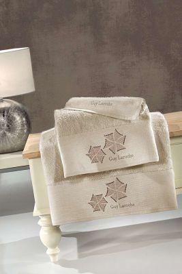 Πετσέτες Wind Natural 30x50-50x90-70x140 Σετ 3 τεμαχίων