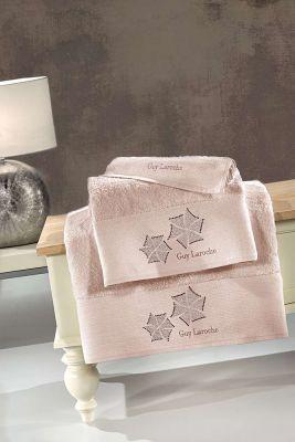 Πετσέτες Wind Old Pink 30x50-50x90-70x140 Σετ 3 τεμαχίων