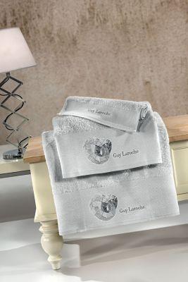Πετσέτες Ring Silver 30x50-50x90-70x140 Σετ 3 τεμαχίων