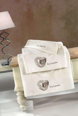 Πετσέτες Ring Ivory 30x50-50x90-70x140 Σετ 3 τεμαχίων