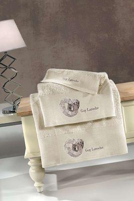 Πετσέτες Ring Natural 30x50-50x90-70x140 Σετ 3 τεμαχίων