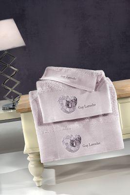 Πετσέτες Ring Lilac 30x50-50x90-70x140 Σετ 3 τεμαχίων