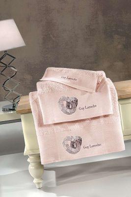 Πετσέτες Ring Old Pink 30x50-50x90-70x140 Σετ 3 τεμαχίων