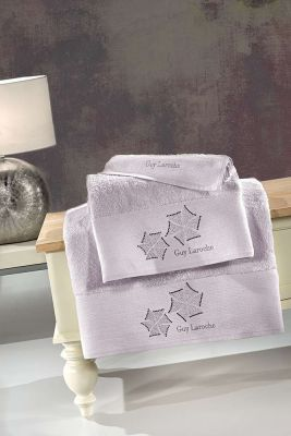Πετσέτες Wind Lilac 30x50-50x90-70x140 Σετ 3 τεμαχίων