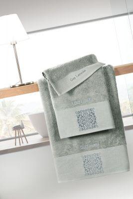 Πετσέτες Funk Mint 30x50-50x90-70x140 Σετ 3 τεμαχίων