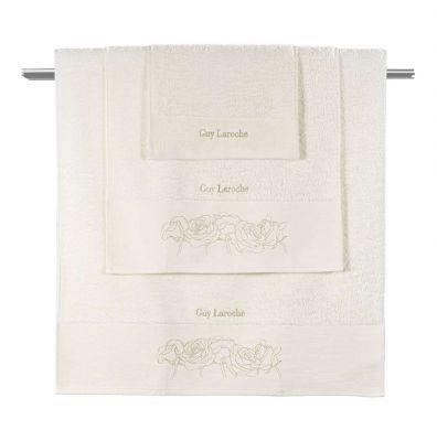 Πετσέτες Lady Ivory 30x50-50x90-70x140 Σετ 3 τεμαχίων