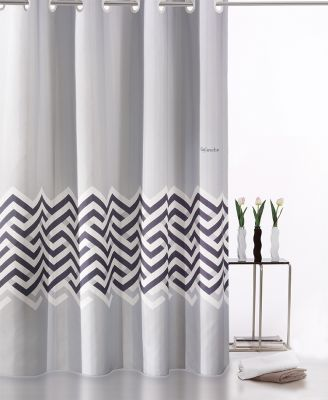 Κουρτίνα Μπάνιου Nero Silver 180x185