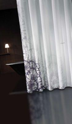 Κουρτίνα Μπάνιου Theatro Grey-Black 180x185