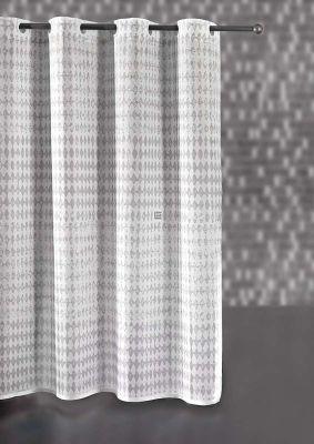 Κουρτίνα μπάνιου Rico Grey 180x185