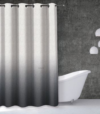 Κουρτίνα μπάνιου Mykonos Anthracite 240x185