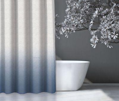 Κουρτίνα μπάνιου Mykonos Light Blue 240x185
