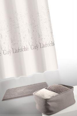 Κουρτίνα Μπάνιου + Πατάκι (Σετ) Guy Laroche Glossy Wenge