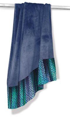 Πετσέτα Θαλάσσης-Ξαπλώστρας Velour-Jacquard 1 Denim 75x165