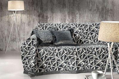 Ριχτάρι διθέσιου καναπέ PANORAMA CHARCOAL 170X250