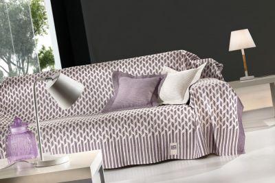 Ριχτάρι τριθέσιου καναπέ KYLIM LILAC 300x180